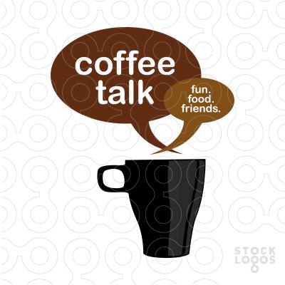 Cup clipart coffee talk Customizable com Customizable Coffee Exclusive