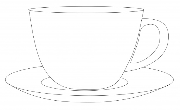 Coffee clipart cup saucer Pictures Stock Cup Domain Free