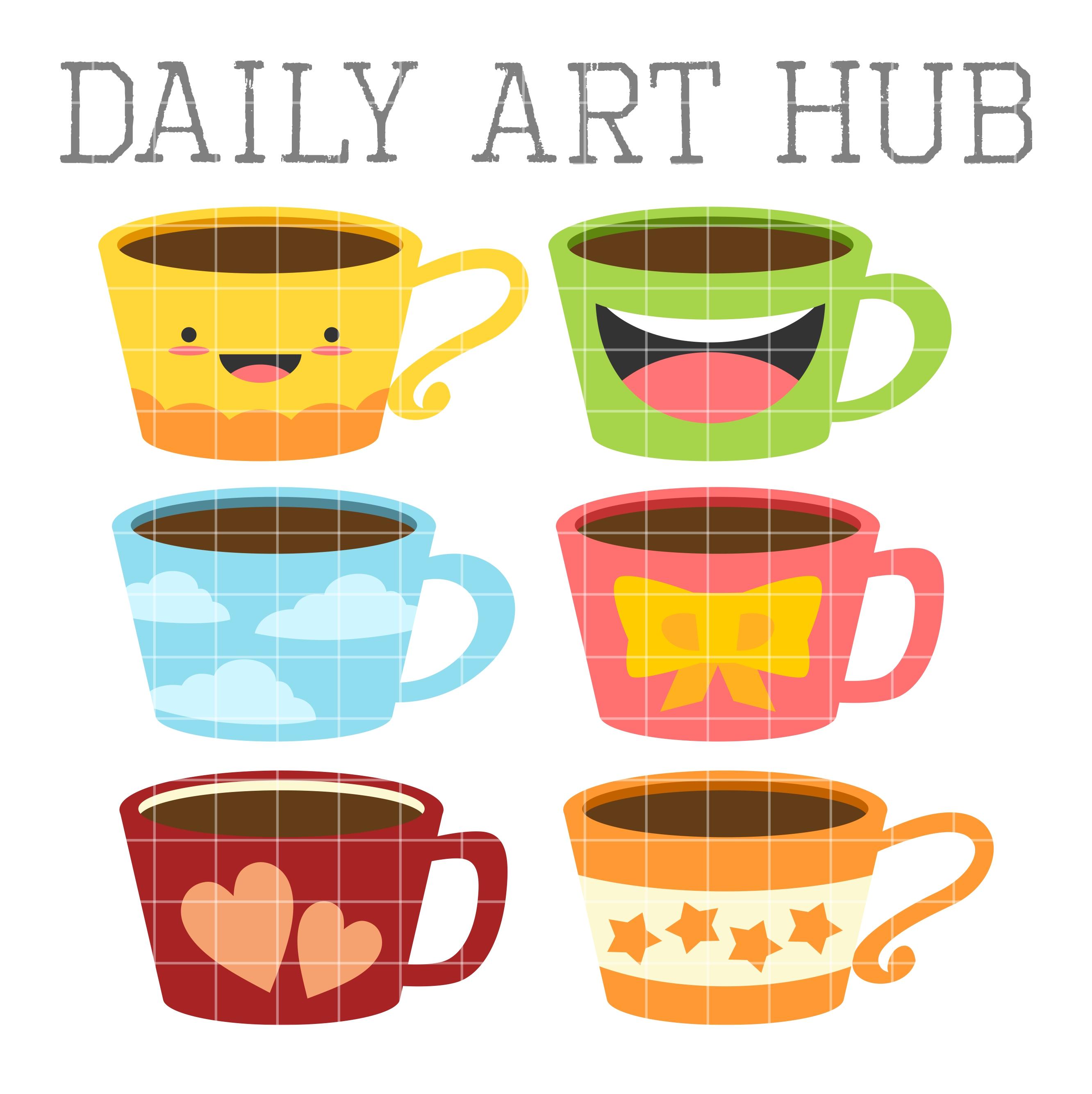 Coffee clipart cute Clip cup clipart Mugs Cute