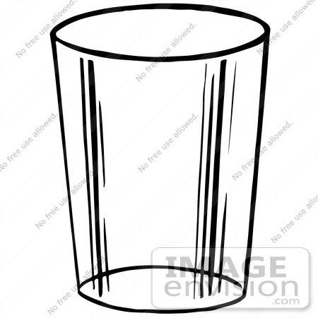 Monochrome clipart glass Black collection glass And drinking