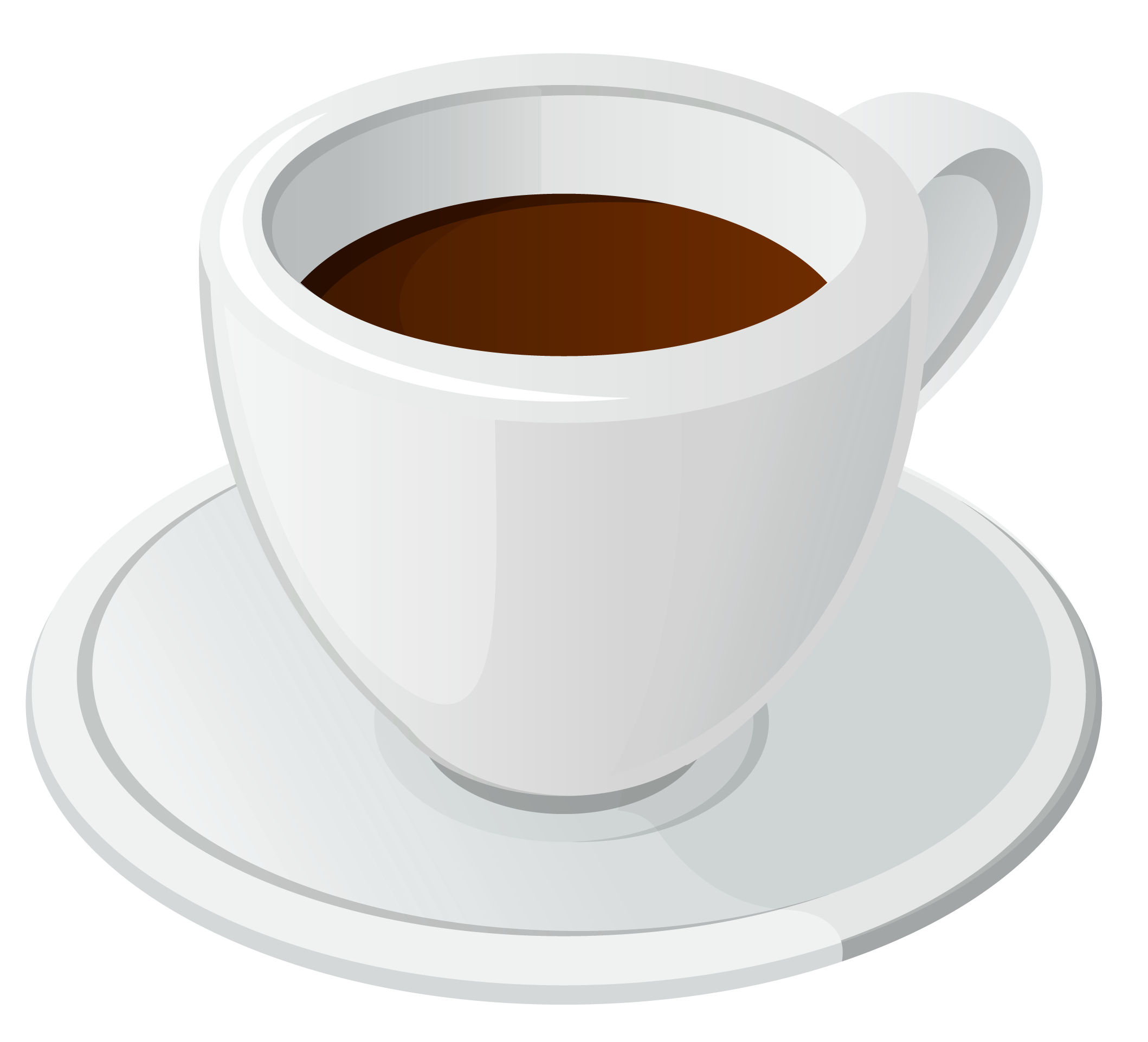 Coffee clipart cup saucer Quality Clipart full High PNG