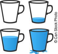 Mug clipart full cup Empty Isolated Clip Art full