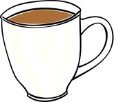 Mug clipart full cup Graphics Coffee Clipart MustHaveMenus Coffee