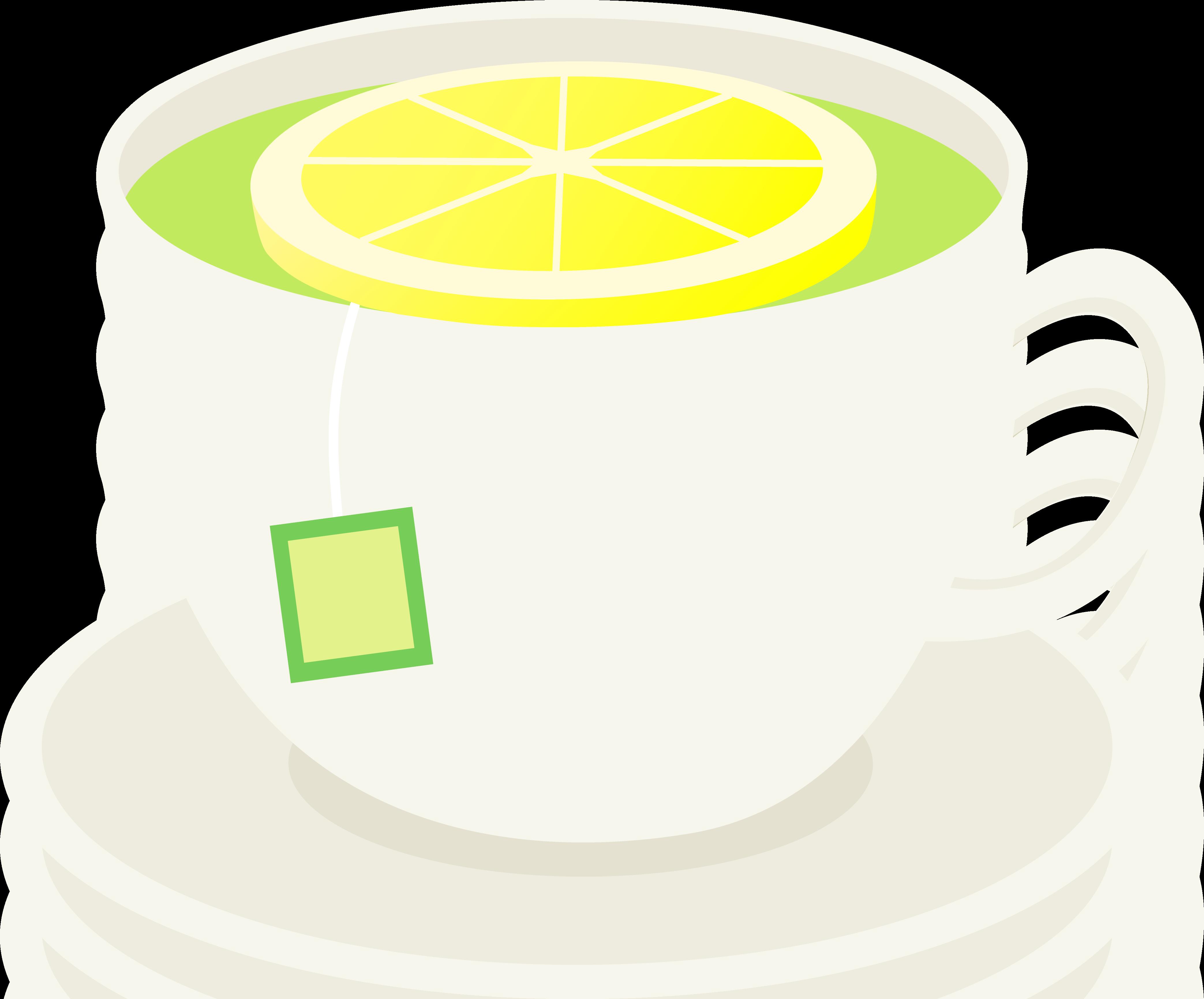 Mug clipart warm water Free of Lemon Lemon Green