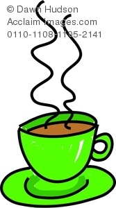 Coffee clipart drawn cup Coffee of Hot Whimsical Or