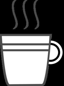 Mug clipart warm water Clipart Clip Panda Black Art