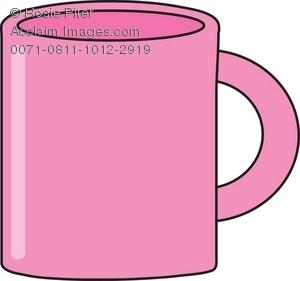 Mug clipart pink Pink Clipart of Illustration Mug