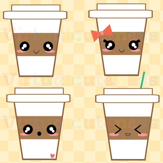 Coffee clipart cute Planner 99 Cup Coffee SALE!