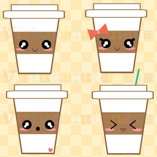 Coffee clipart cute Art Coffee Cocoa Planner 99