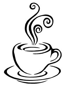 Coffee clipart drawn cup Heart  can art Clipart