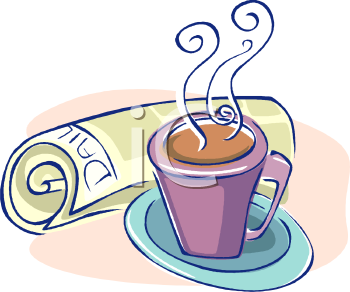 Coffee clipart coffee morning Free Clipart Coffee Drinking Images