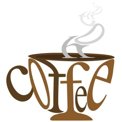 Coffee clipart coffee morning Cool coffee 실루엣 images best