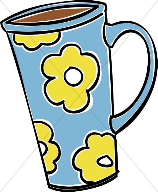 Coffee clipart refreshments Hour Mug Tan Clipart with