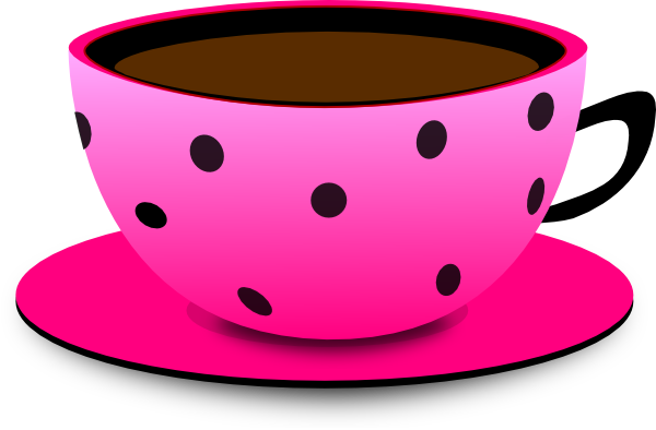 Coffee clipart teacup Collection Coffee Images: Cute Pink