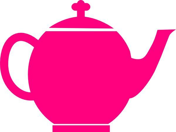 Teapot clipart cute Teapot image teapot pink art