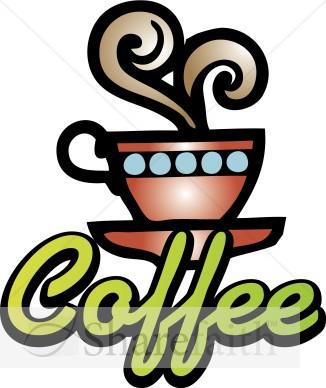 Coffee clipart refreshments Refreshments Clipart Word Coffee Neon