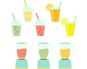 Smoothie clipart takeaway Blenders Collection Cup and cups