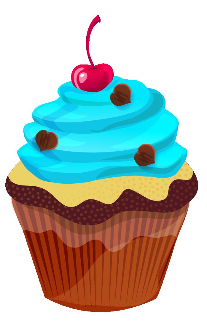 Muffin clipart green cupcake Cupcake Clip Free & Domain