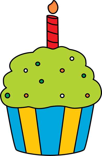 Muffin clipart birthday cupcake Birthday Art Cupcake Images Clip