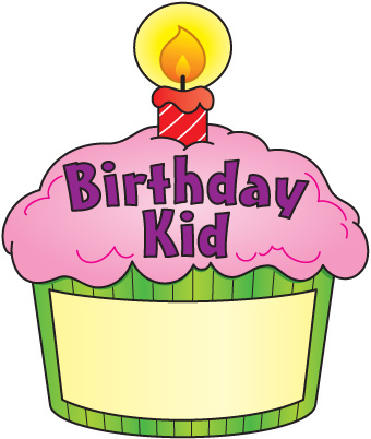 Muffin clipart five Clipart clipart cupcake Birthday 3