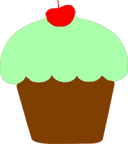 Muffin clipart green cupcake Image images clipart and cupcakes