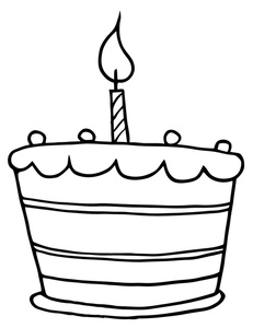 Cake clipart line art Clipart Cupcake Free Images Clip