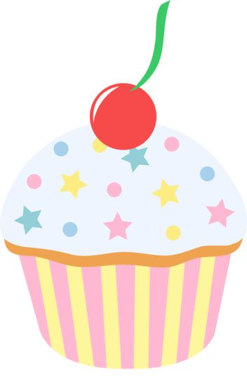 Brownie clipart vanilla cupcake Pinterest Cupcake Candy images Party