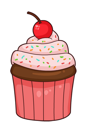Vanilla Cupcake clipart animated Image yours on or cupcake