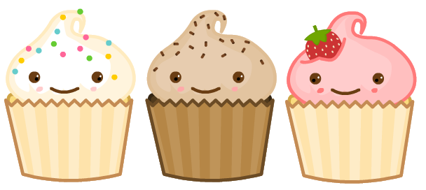 Muffin clipart face Cartoon Search of Google cupcakes