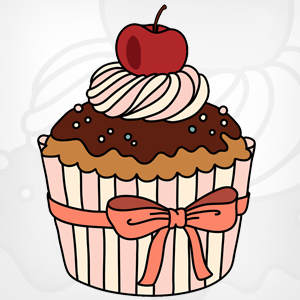 Muffin clipart chocolate cupcake (70+) with cupcake Cupcakes Clipart