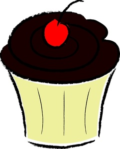 Frosting clipart chocolate cupcake Chocolate%20clipart Chocolate Clipart Free Clipart