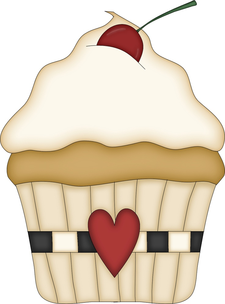 Vanilla Cupcake clipart cookie cupcake Say I best Love on
