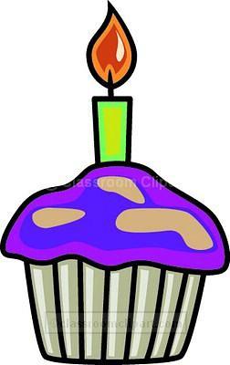 Birthday clipart muffin Cupcake Clipart : jpg Classroom