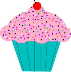 Pice clipart pink cupcake #15