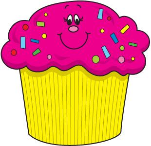 Vanilla Cupcake clipart happy birthday Clip  carson Art birthday
