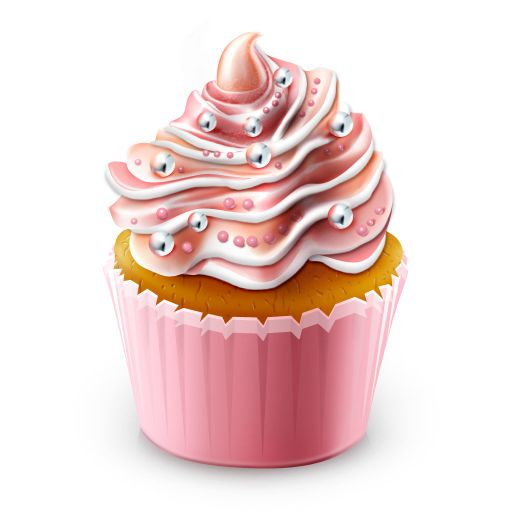 Vanilla Cupcake clipart colorful cupcake Art on clipart Free Cupcake