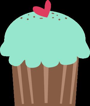Panda clipart cupcake Images Cupcake Cupcake Green Clip