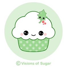 Muffin clipart christmas :) animated cupcakes Google of