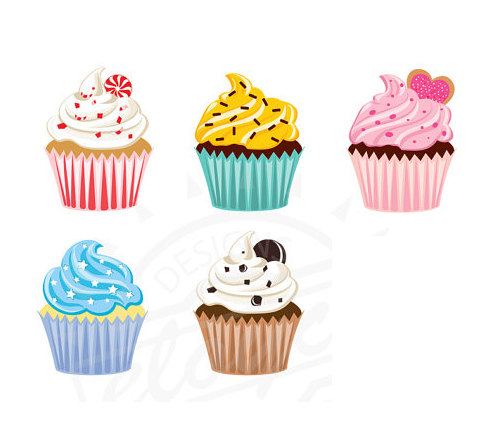 Muffin clipart five Free Clipart Cupcake Images cupcake%20clipart