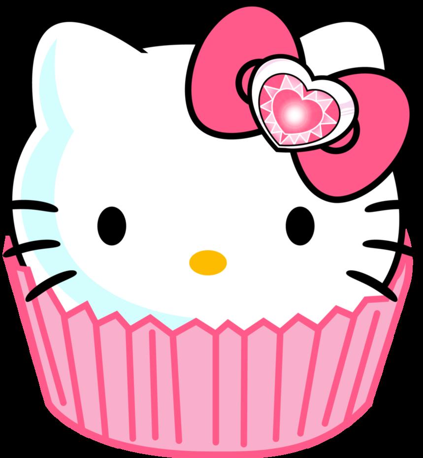 Vanilla Cupcake clipart deviantart By Hello  Border Clip