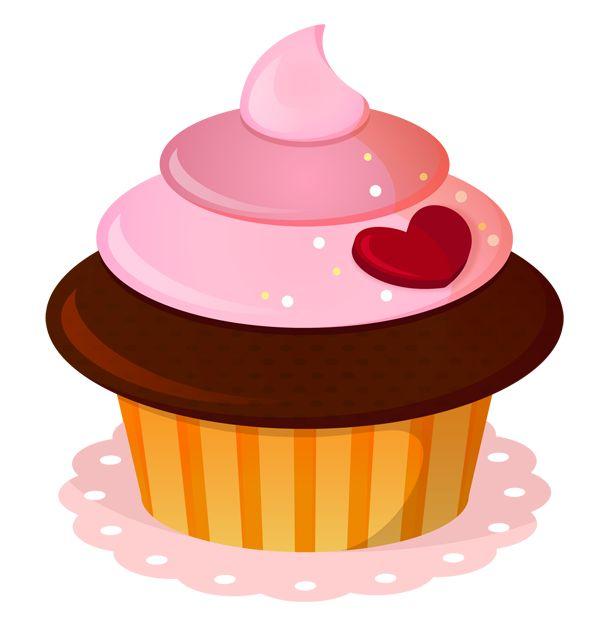 Pice clipart vanilla cupcake Cupcake CupcakesPink Cupcake Pinterest images