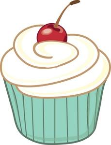 Vanilla Cupcake clipart green cupcake Cupcake Free Clipart Clipart Images