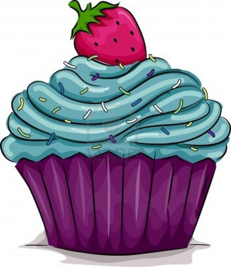 Muffin clipart purple Cupcakes Cupcakes Find this clipart