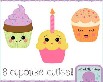 Muffin clipart kawaii Download Clipart Kawaii Clipart Cupcake