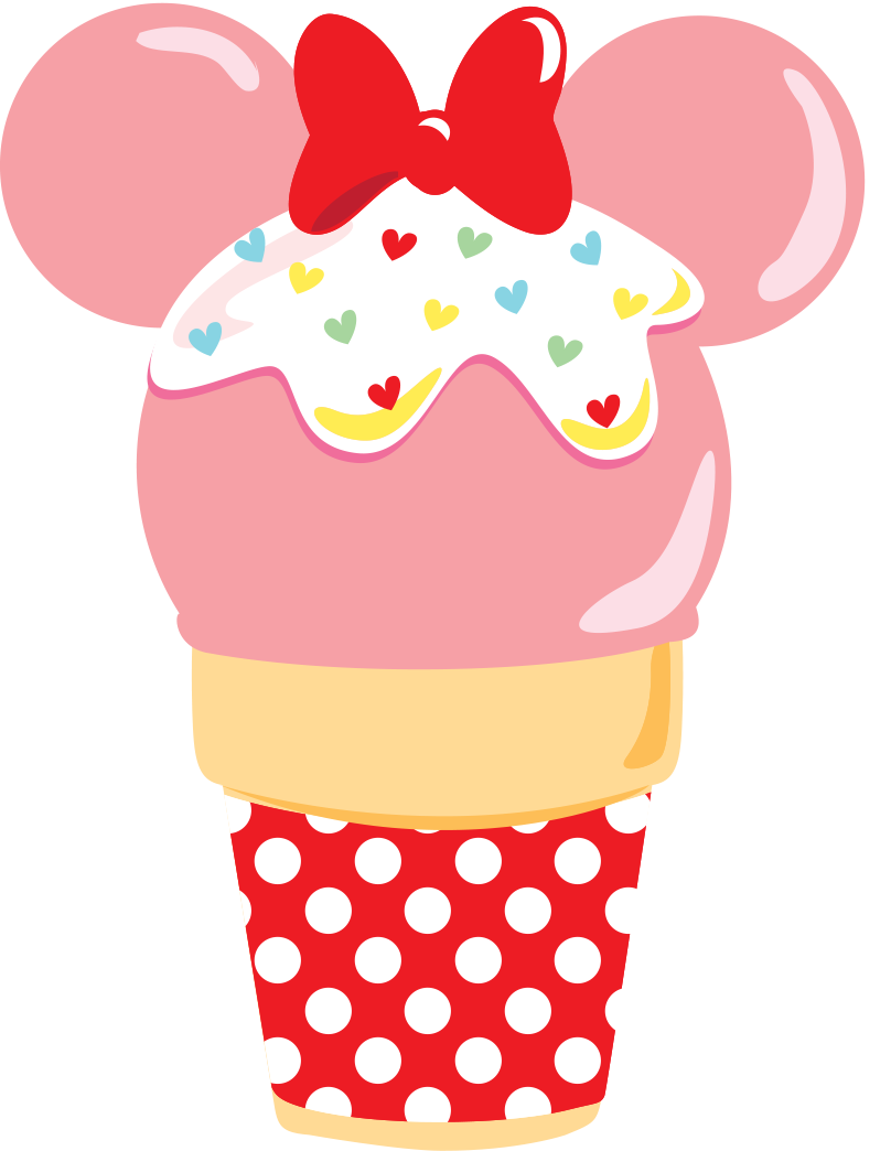 Candy clipart disney MinnieLollyPop MinnieCupcake2 Collections Treats by