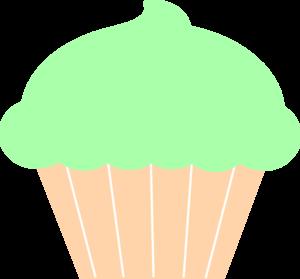 Muffin clipart green cupcake Online Art at vector art