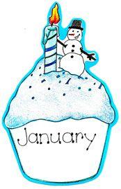 Cake clipart january #1
