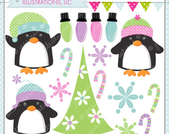 Penguin clipart spring OK Clipart or Sweet Graphics