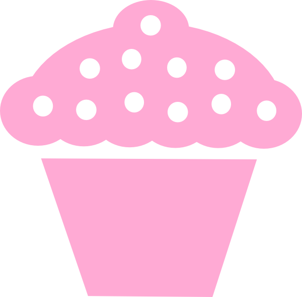 Pice clipart pink cupcake #5