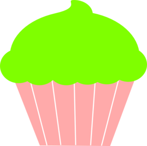 Muffin clipart green cupcake Art Simple collection at cupcake